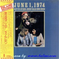 Kevin Ayers, Cale, Eno, Nico, June 1st, 1974, Island, ILS-80074