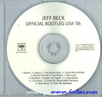 Jeff Beck, Official Bootleg USA 06, Sony, MHCP-1362/R