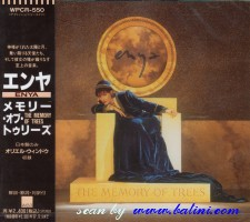 Enya, The memory of trees 1st, WEA, WPCR-550