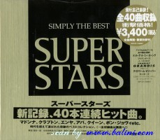 Various Artists, Simply the best Superstars, WEA, WPCR-10990.1