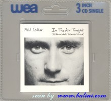 Phil Collins, In the Air Tonight, (3inch), WEA, 257 672-2