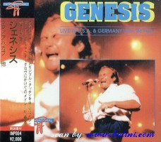 Genesis, Live in Usa and Germany 1, Other, INP-004