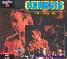 Genesis, Live in USA 1982, Other, INP-010