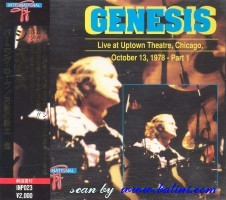 Genesis, Live at Uptown Theatre, Chicago part 1, Other, INP-023