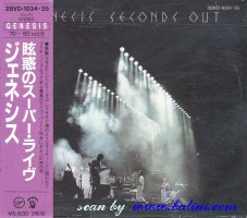 Genesis, Seconds Out, (1st), Virgin, 28VD-1034.35