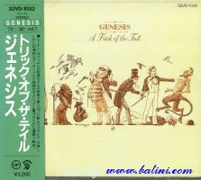 Genesis, A Trick of the Tail, (1st), Virgin, 32VD-1032