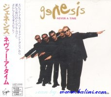 Genesis, Never a Time , Virgin, VJCP-12005