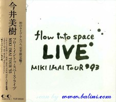 Miki Imai, Flow into Space - Live, For Life, FLCF-30228