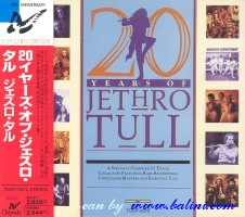 Jethro Tull, 20 Years of, Toshiba, TOCP-5974