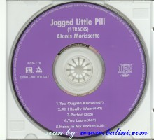 Alanis Morissette, Jagged Little Pill, WEA, PCS-175