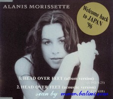 Alanis Morissette, Head over feet, WEA, PCS-224