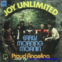 Joy Unlimited, Early Morning Moanin, Proud Angelina, Pilz, 05 11556-3