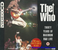 The Who, Thirty Years of , Maximun ReB Live, Polygram, 631 012-4