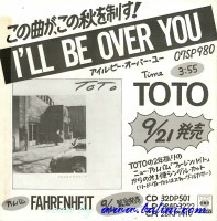 Toto, I ll be Over You, Fahrenheit, Sony, XDSP 93078