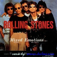 Rolling Stones, Mixed Emotions, Fancy Man Blues, Sony, XDSP 93119