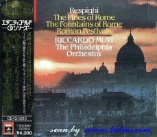 Respighi, The Fountains of Rome, EMI, CE43-5510