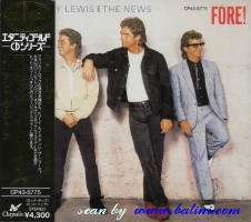 Huey Lewis and The News, Fore, EMI, CP43-5775