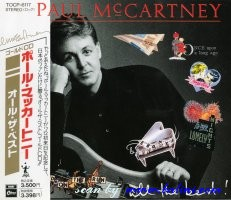 Paul McCartney, All the best, EMI, TOCP-6117