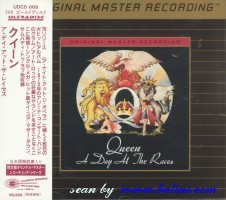 Queen, A Day at the Races, MFSL Ultradisc II, UDCD 668