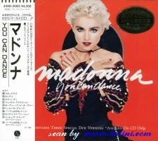 Madonna, You can dance, Warner-Pioneer, 43XD-2000
