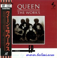 Queen, The Works, Toshiba, TOMW-7005