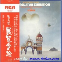 Isao Tomita, Pictures At An Exibition, RCA, SRA-2972