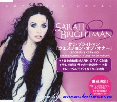 Sarah Brightman, A Question of Honour, Toshiba, PCD-3099