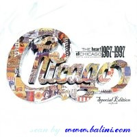Chicago, The Heart of 1967-1997, WEA, PCS-258