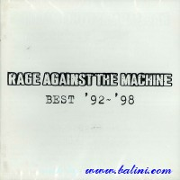 Rage Against the Machine, Best 92-98, Sony, XDCS 93360