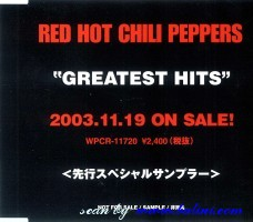 Red Hot Chili Peppers, Greatest Hits, WEA, PCS-641