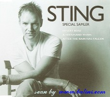 Sting, Desert Rose , A&M, 4DCP-3081