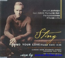 Sting, Send Your Love, Universal, SIC-1116