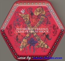 X, Psychedelic Violence, (Red), Sony, XDEH 93024/R