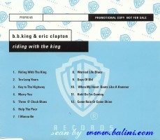 Eric Clapton, BB King, Riding with the king, WEA, PROP05185