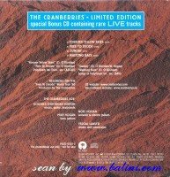 The Cranberries, Limited Edition Live, Island, PRCD 8021-2