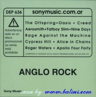 Various Artists, Anglo Rock, Sony, DEP 636