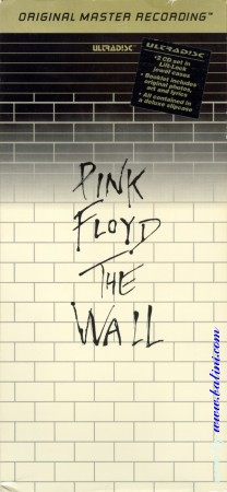 Pink Floyd, The Wall, LongBox, MFSL Ultradisc, UDCD 2-537