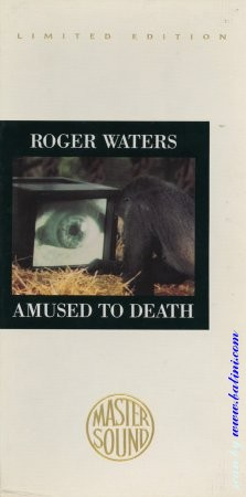 Roger Waters, Amused to death, LongBox, Sony, CK 53196