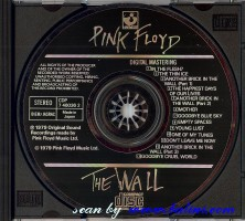 Pink Floyd, The Wall, EMI, CDP 7 46036 2
