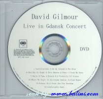 David Gilmour, Live in Gdansk, Sony, SICP 2022.6/RD