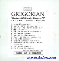 Gregorian, Masters of Chant, Chapter V, Imperial, TECI-26397/R