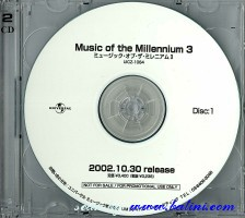 Various Artists, Music of the millennium 3, Universal, UICZ-1064.65/R