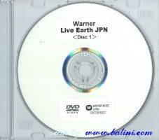 Various Artists - RW, Live Earth, (DVD), WEA, WPZR-30243/R