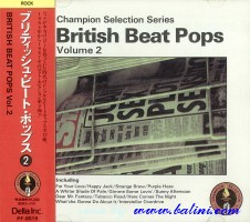 Various Artists, British Beat Pops 2, Semi Official, PF-8519