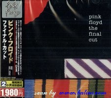 Pink Floyd, The final cut, Toshiba, TOCP-54125
