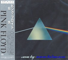 Pink Floyd, The dark side of the moon, Toshiba, TOCP-67914