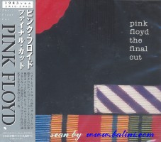 Pink Floyd, The final cut, Toshiba, TOCP-67915