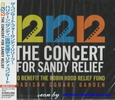 Various Artists, 12-12-12 The Concert, for Sandy Relief, Sony, SICP 3768.9