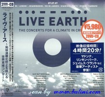 Various Artists, Live Earth, WEA, WPZR-30243.5