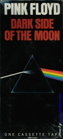 Pink Floyd, The dark side of the moon, (Tape), Capitol, 4PW-11163